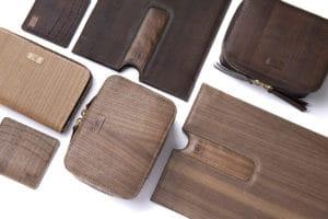 esempi di prodotti per la moda realizzati in Ligneah