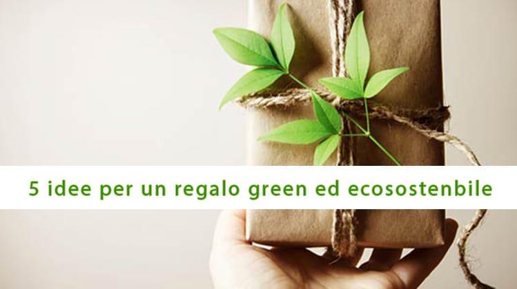 5 idee per un regalo ecologico e green