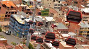 La teleferica di La Paz