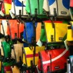 Borse e borselli Freitag: le borse in materiale plastico riciclato