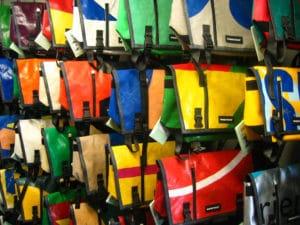borse in pvc riciclato