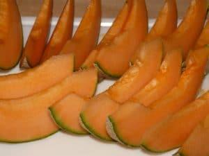 un bel piatto di melone (popone)