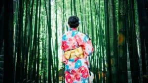 bamboo per ottenere tessuti naturali