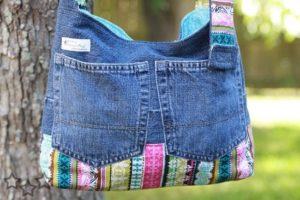 riciclare un vecchio paio di jeans