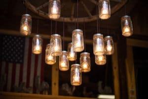 Lampada Con Barattolo Di Vetro : Lampade con bottiglie di vetro le migliori idee per la tua