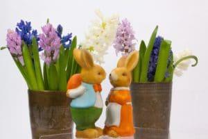 Vecchie tazze che diventano porta fiori