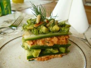 lasagna vegetariana bianca