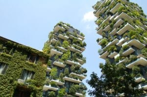 giardini verticali urbani