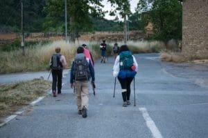 pellegrini al Cammino di Santiago