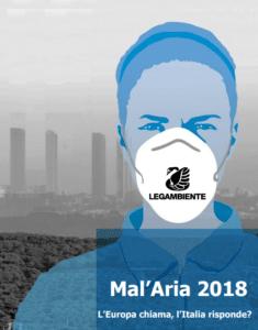 Scarica il dossier Mal'aria 2018 di Legambiente