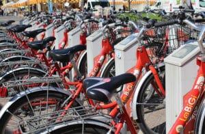 Sharing mobility: biciclette condivise per spostarsi in città