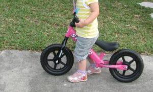 bici per i più piccoli (0-3 anni) senza pedali