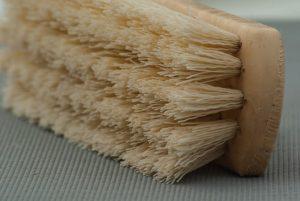 spazzola per pulire