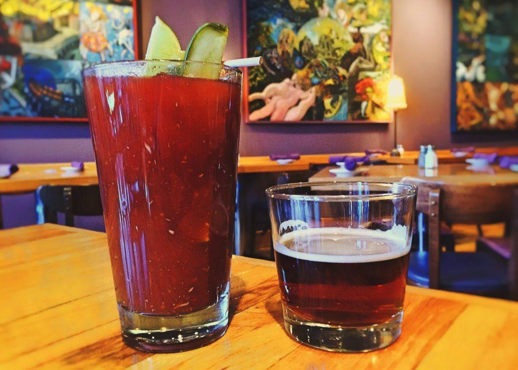 Un ottimo cocktail analcolico a base di pomodoro e sedano