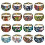 Set candele naturali