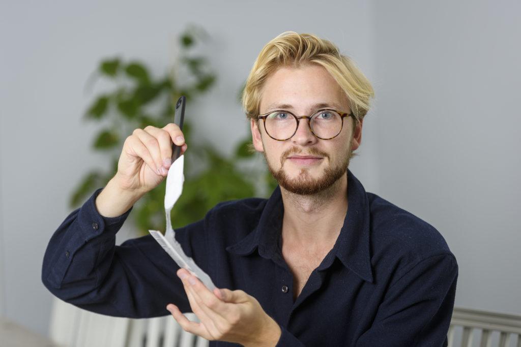 Per Pontus Törnqvist la plastica deve tornare ad essere un bene prezioso e di lusso.