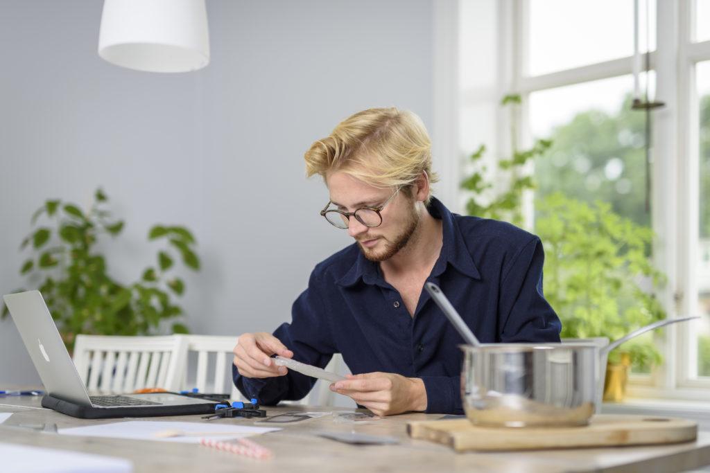 Pontus Törnqvist per la sua invenzione ha ricevuto il prestigio James Dysib
