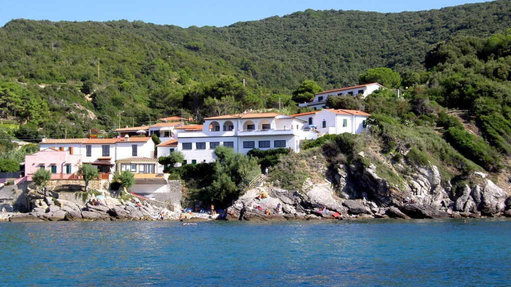 Un ecoalbergo all'isola d'Elba