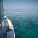 Spiaggia in Australia, mar dei coralli Queens Land
