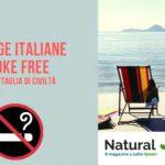 Divieto di fumare nelle spiagge italiane