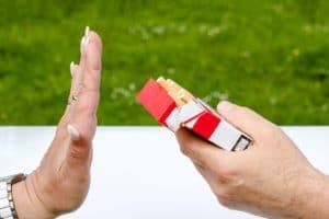 Il fumo passivo è un pericolo per le persone deboli