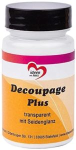 AMAZON: Colla e vernice Decoupage Plus