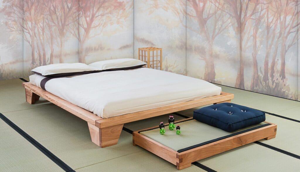 Le alla giapponese interamente in legno